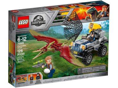 Купить Лего 75926 Погоня за Птеранодоном, Jurassic World.