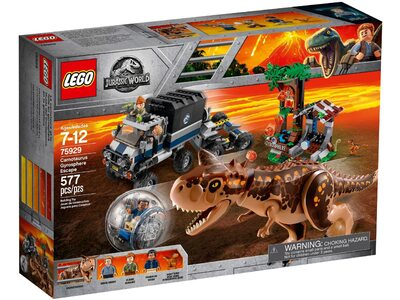 Купить Лего 75929 Carnotaurus Gyrosphere Escape, Jurassic World.