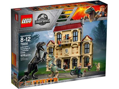 Купить Лего 75930 Indoraptor Rampage at Lockwood Estate, Jurassic World.