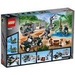 Купить Лего 75935 Поединок с бариониксом: охота за сокровищами серии Джурасик Ворлд.