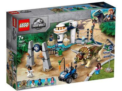 Купить Лего 75937 Нападение трицератопса серии Джурасик Ворлд.