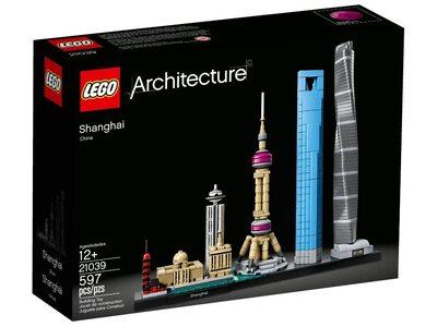 Купить Лего 21039 Шанхай, LEGO Architecture.