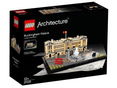 Купить Лего 21029 Букингемский Дворец, Архитектура.