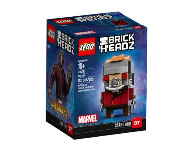 Купить Лего 41606 Звёздный Лорд, Brick Headz.