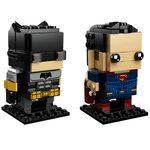Купить Лего 41610 Бэтмен и Супермен, Brick Headz.