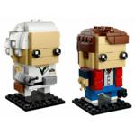 Купить Лего 41611 Марти Макфлай и Доктор Браун, Brick Headz.