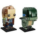 Купить Лего 41614 Оуен и Блу, Brick Headz.