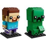 Купить Лего 41612 Стив и Крипер, Brick Headz.