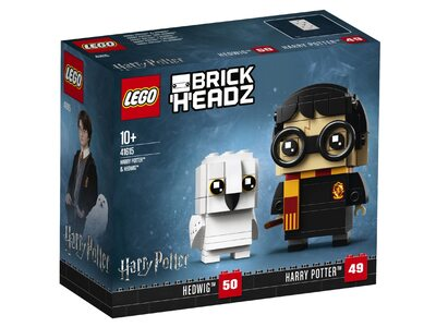Купить Лего 41615 Гарри Поттер и Хедвиг, Brick Headz.
