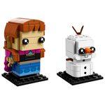 Купить Лего 41618 Анна и Олаф, Brick Headz.