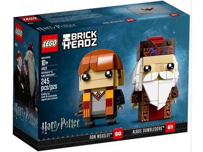 Купить Лего 41621 Рон Уизли и Альбус Дамблдор, Brick Headz.
