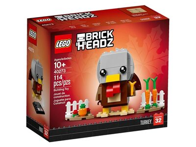 Купить Лего 40273 Индюшка серии Брик Хедс.
