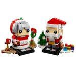 Купить Лего 40274 Мистер и Миссис Клаус серии Брик Хедс