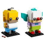Купить Лего 41632 Гомер Симпсон и Клоун Красти серии Брик Хедс