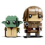 Купить Лего 41627 Люк Скайвокер и Йода, LEGO Brick Headz.