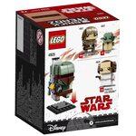 Купить Лего 41629 Боба Фетт, Brick Headz.