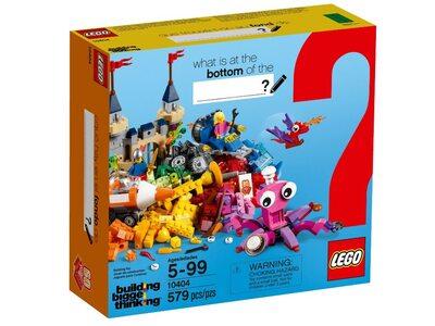 Купить Лего 10404 Океанские глубины, Building Bigger Thinking.