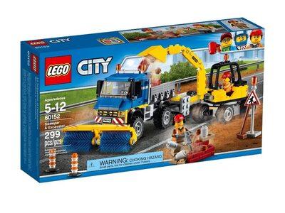 Купить Лего Сити 60152 Уборочная техника LEGO CITY.
