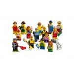 Купить Лего Сити 60153 Набор минифигурок - пляжные развлечения, LEGO City.