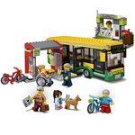 Купить Лего Сити 60154 Автобусная остановка, LEGO City.