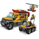 Купить Лего Сити 60161 Джунгли: Зона исследований, LEGO City.
