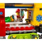 Купить Лего 60179 Вертолет скорой помощи, LEGO City.