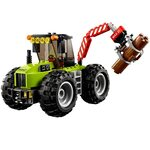 Купить Лего 60181 Лесоповальный трактор, LEGO City.