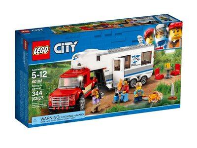 Купить Лего 60182 Пикап и фургон, LEGO City.