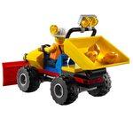 Купить Лего 60186 Тяжелый горный бур, LEGO City.