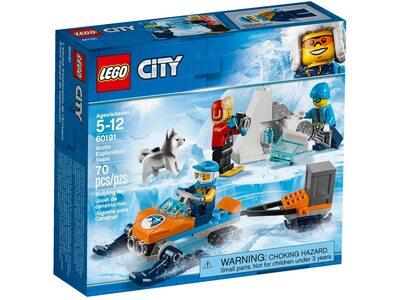 Купить Лего 60191 Полярные исследователи, LEGO City.