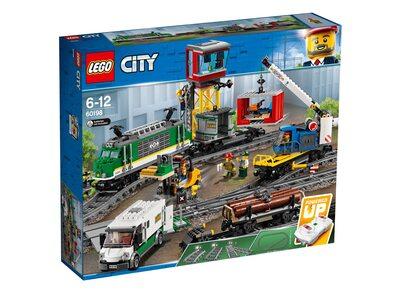 Купить Лего 60198 Грузовой поезд, LEGO City.