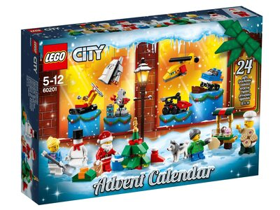 Купить Лего 60201 Новогодний календарь Сити 2019.
