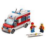 Купить Лего 60204 Городская больница, City.