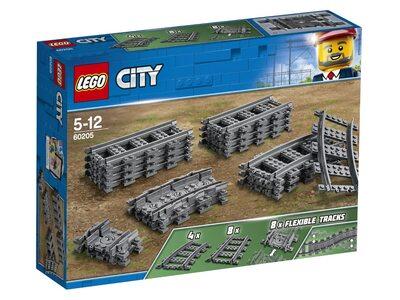 Купить Лего 60205 Рельсы, LEGO City.