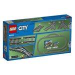 Купить Лего 60238  Железнодорожные стрелки, LEGO City.