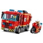 Купить Лего 60214 Пожар в бургер-кафе серии Сити.