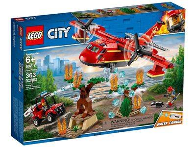 Купить Лего 60217 Пожарный самолёт серии Сити.