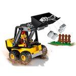 Купить Лего 60219 Строительный погрузчик серии Сити.