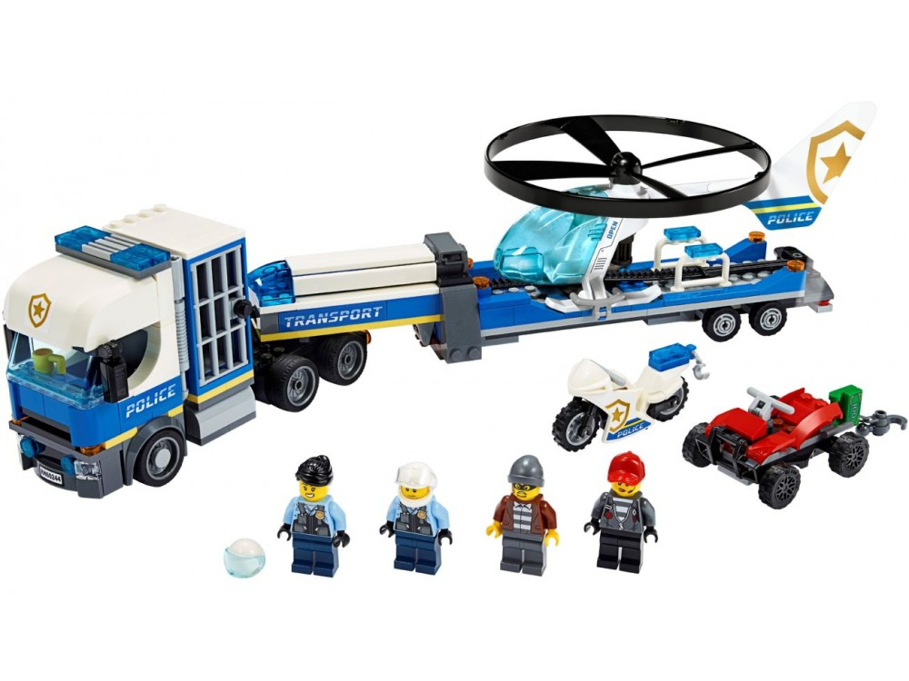 Картинки лего грузовики полицейские