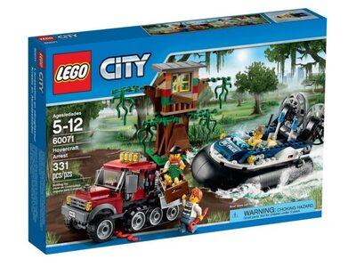 Купить Лего 60071 Полицейское судно на воздушной подушке LEGO City.