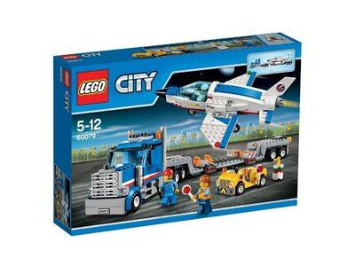 Купити Лего 60079 Транспортер для навчальних літаків Космопорт.