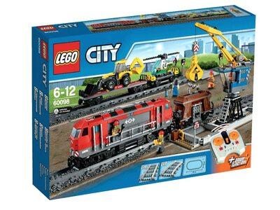 Купить Лего 60098 Грузовой поезд  LEGO City (Сити).