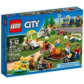 Развлечения в парке для жителей города