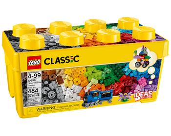 Коробка кубиков LEGO® для творческого конструирования среднего размера