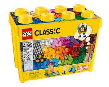 Коробка кубиков LEGO® для творческого конструирования большого размера