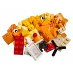 Купить Лего Классик 10709 Оранжевый набор для творчества.