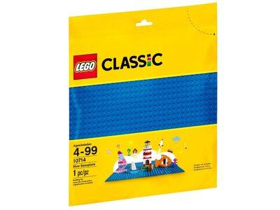 Купить Лего 10714 Базовая пластина синего цвета, LEGO Classic.