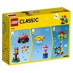 Купить Лего 11002 Базовый набор кубиков серии Классик.