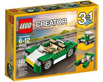 Зеленый кабриолет