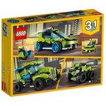 Купить Лего 31074 Гоночный автомобиль Ракета, LEGO Creator.